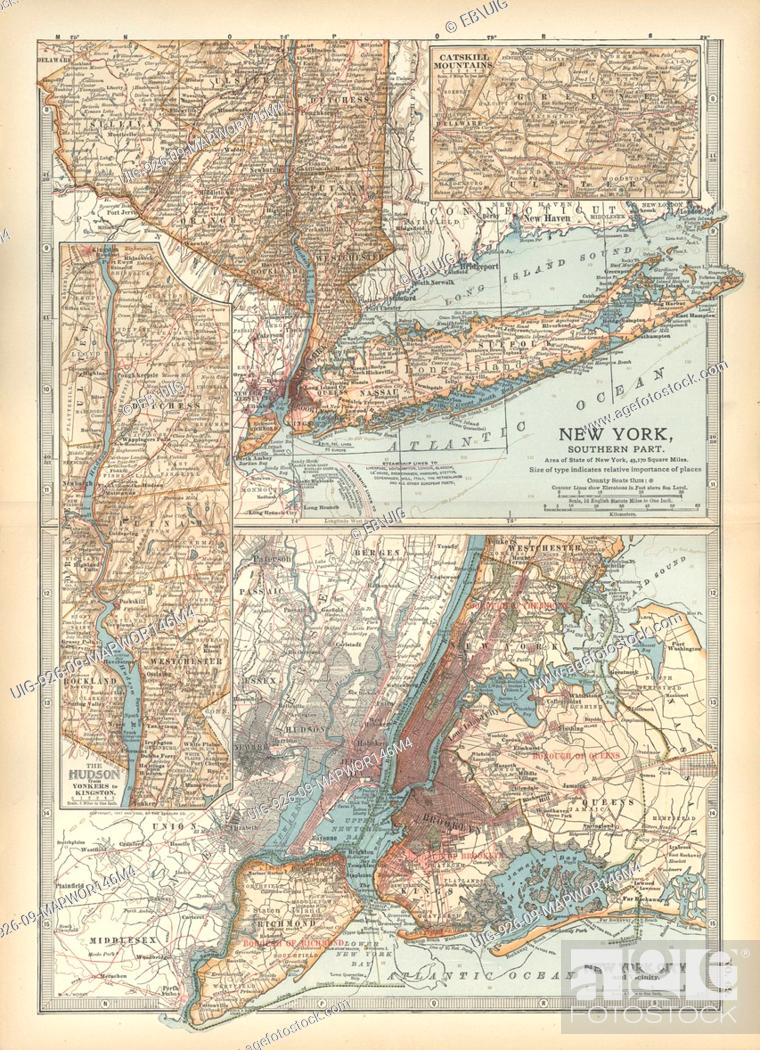 Map Of Southern New York.Map Of Southern New York State United States Insets Map Of New