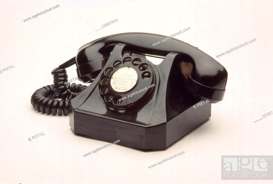 Stock Photo: Telephone.