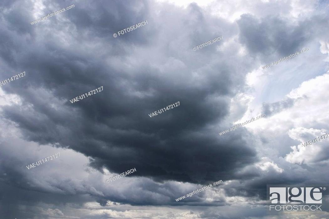 Stock Photo: Calm, Climate, Cloud Formation, Clouds, Day.