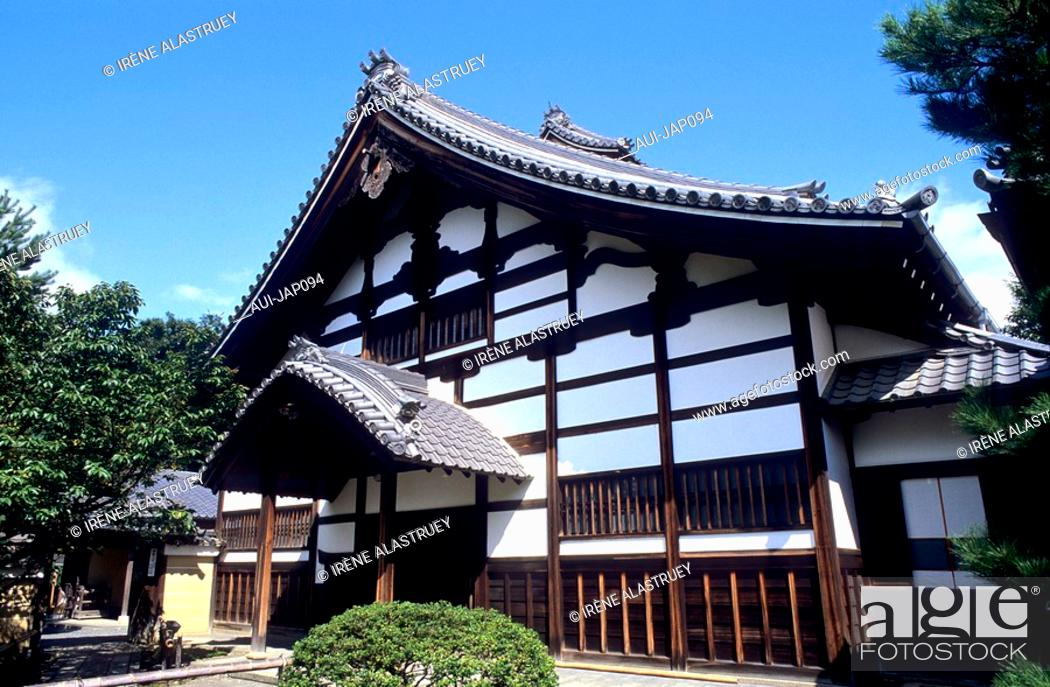 Stock Photo: Japan - Kyoto - Higashiyama District - Kodai-ji Temple.