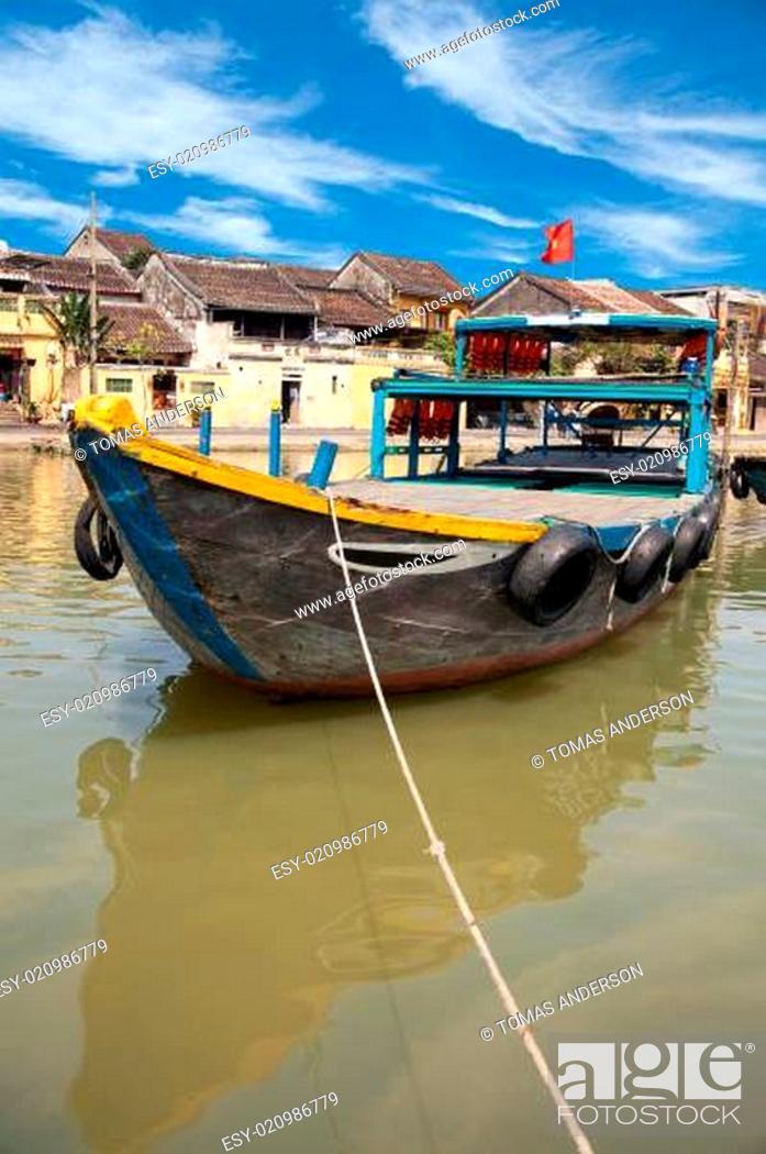 Stock Photo: Hoi An Vietnam.
