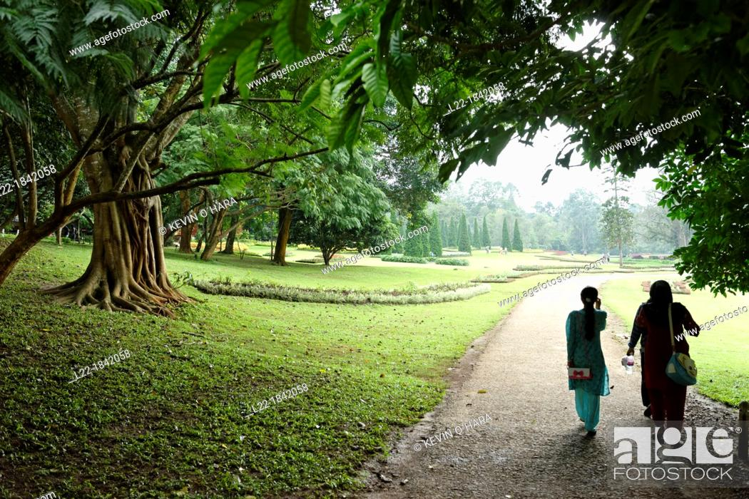 Stock Photo: The National Kandawgyi Botanical Gardens  Pyin U Lwin, formely Maymyo  Mandalay Division  Burma  Republic of the Union of Myanmar.