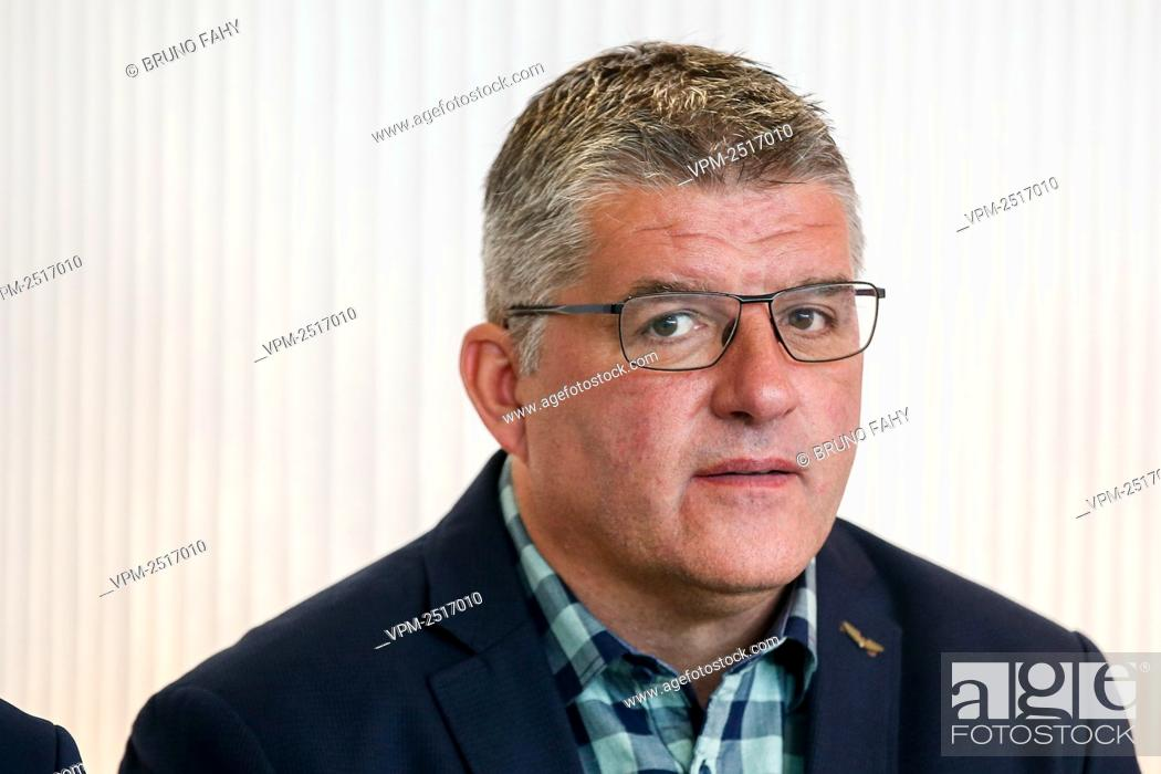 Stock Photo: Philippe Albert pictured during a press conference to present the 'home of Football' and the 2020-2021 season calendar by the Jupiler Pro League and rights.