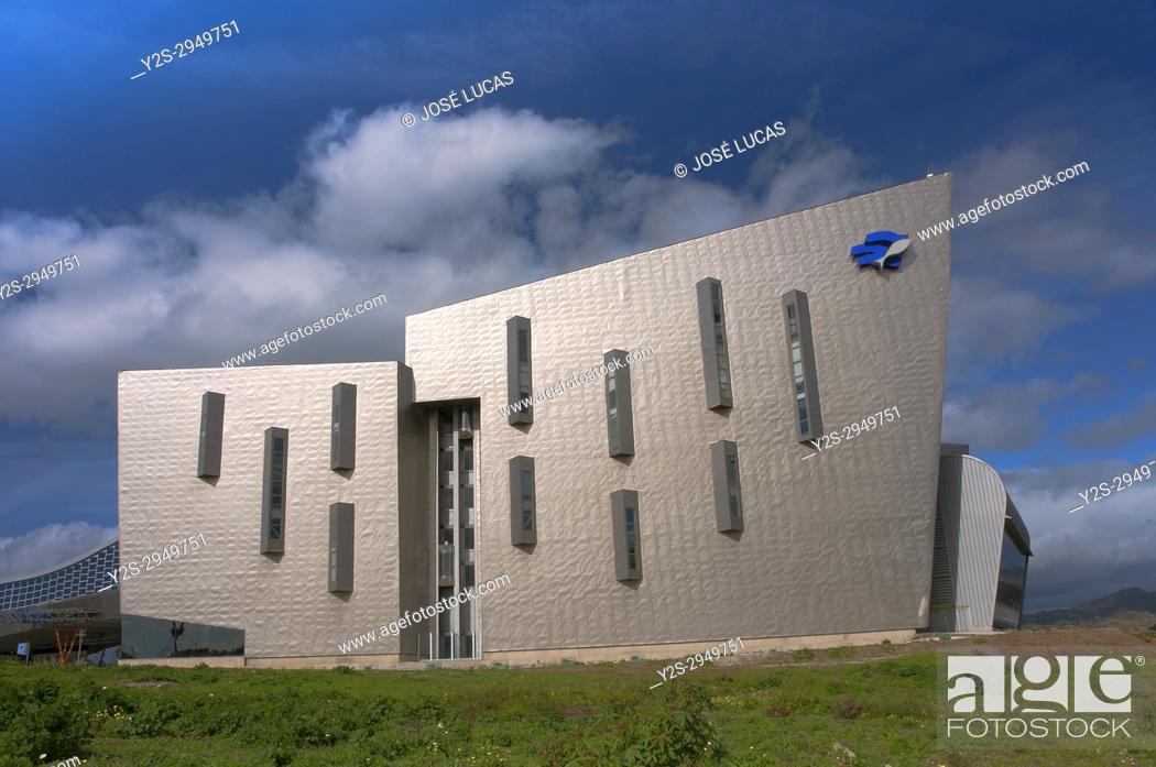 Stock Photo: Trade Fairs and Congress Center, Malaga, Region of Andalusia, Spain, Europe.