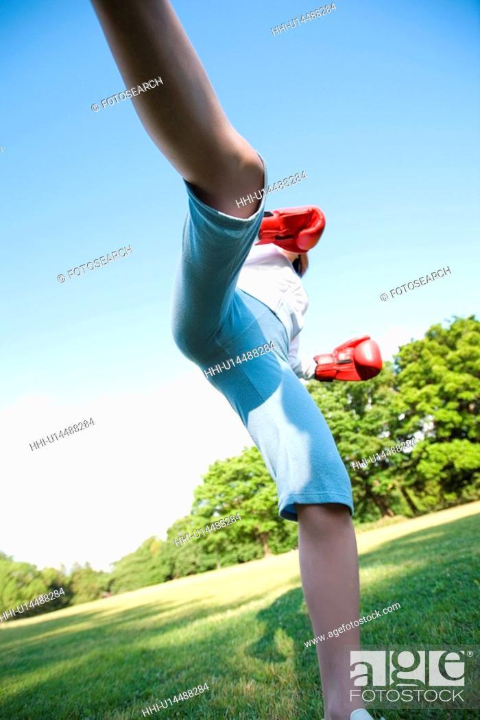 Stock Photo: Martial art.