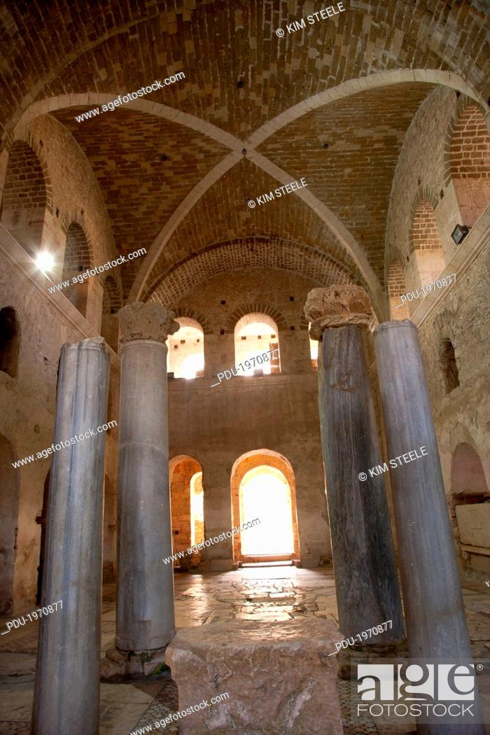 Stock Photo: Vaulted ceilings in Chhurch of St Nicholas in Myra.