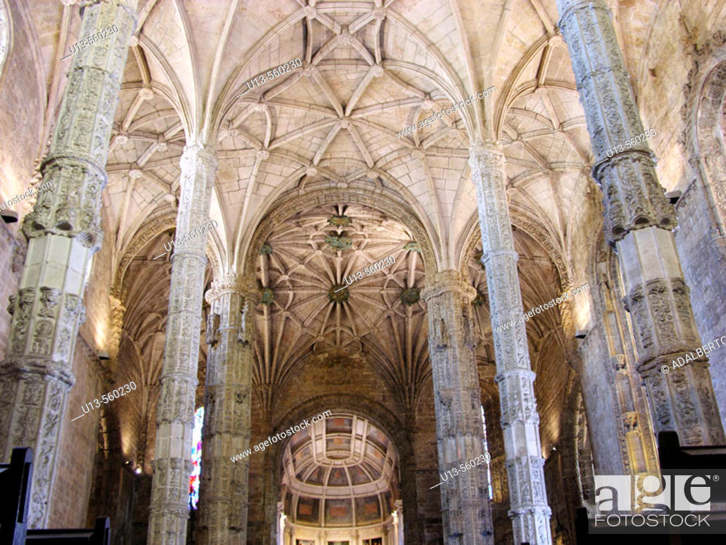 Stock Photo: Monastery of the Hieronymites. Lisbon. Portugal.