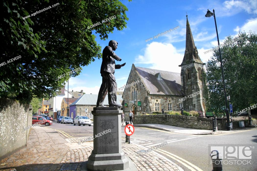 Stock Photo: Michael Collins, Clonakilty, Co Cork, Ireland.