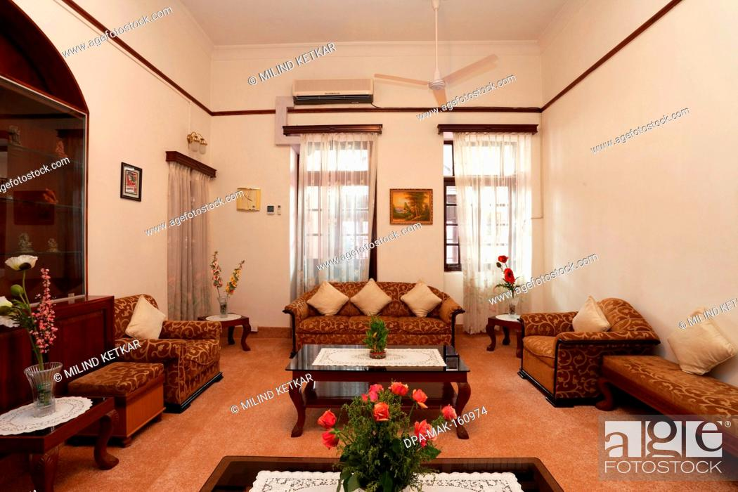 Living Room In Heritage Bungalow Of General Manager