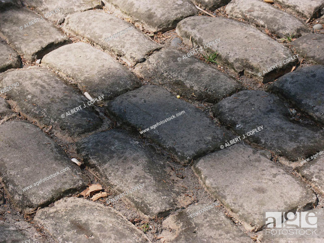 Stock Photo: Paving stones.