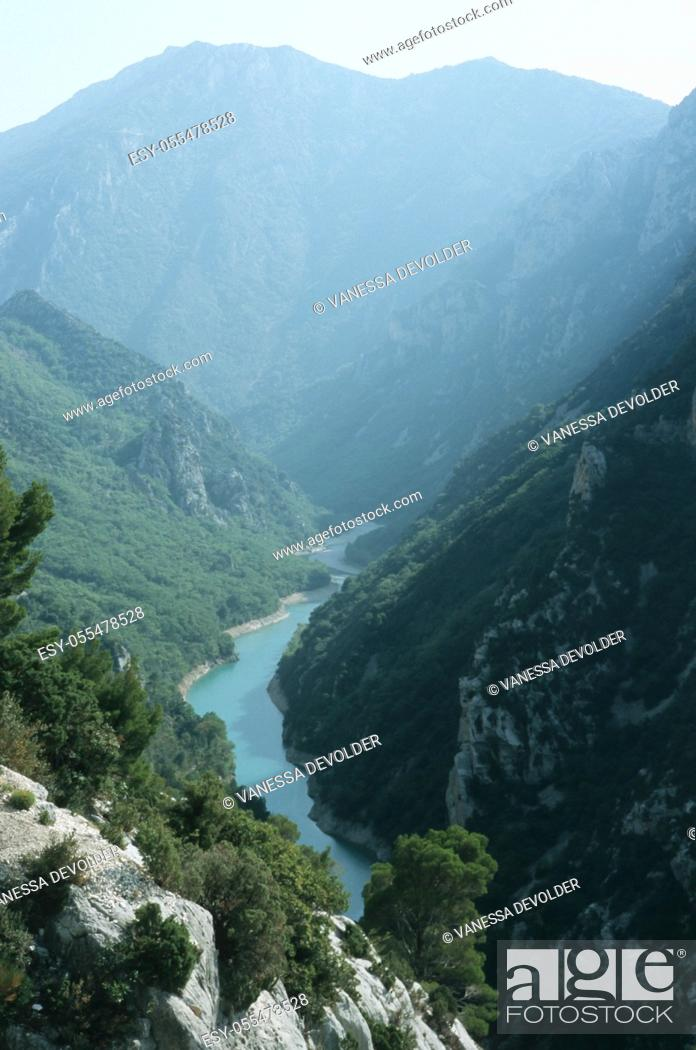 Imagen: Gorges du Verdon. Country: France, Region: Le Var.
