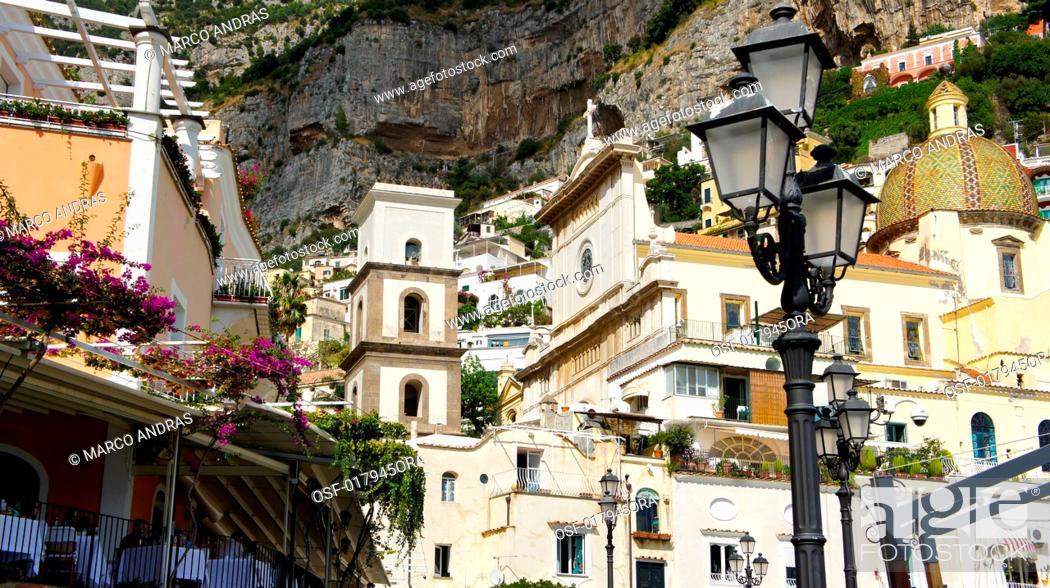 Stock Photo: Italy, Positano.