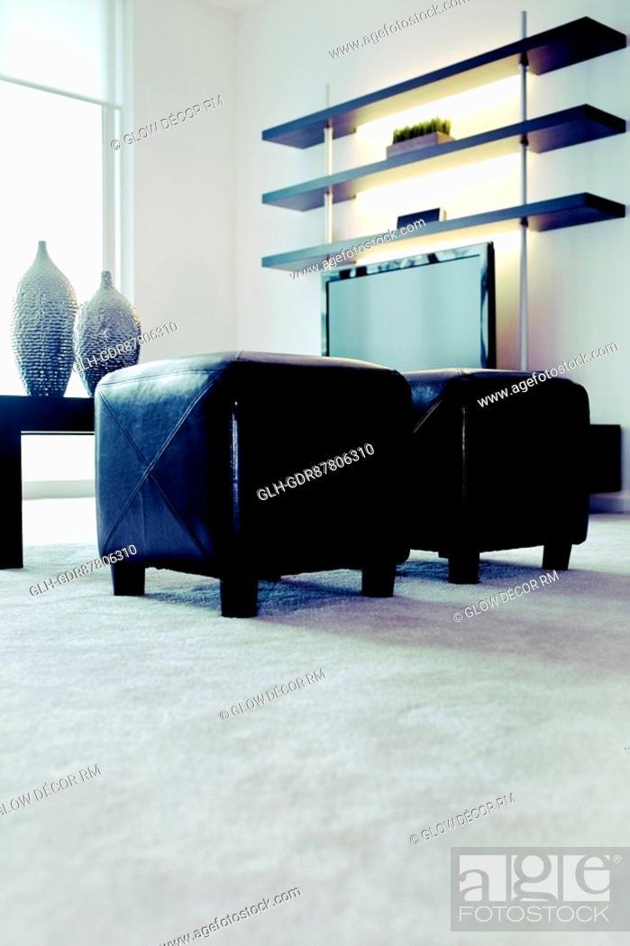 Imagen: Interiors of a living room.