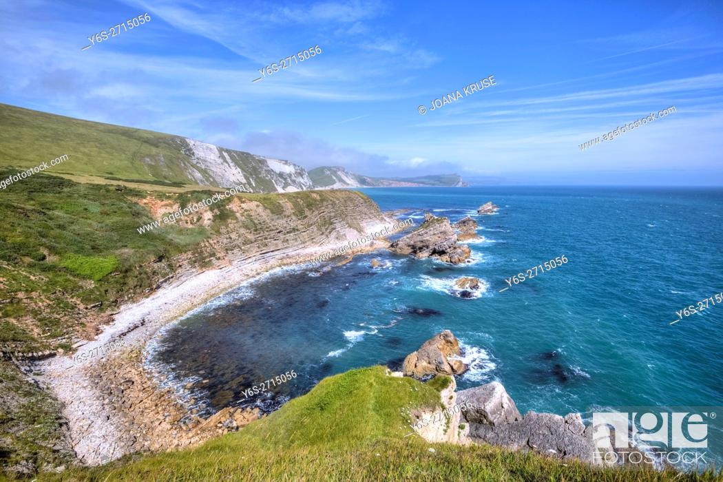 Photo de stock: Mupe Bay, Dorset, England, United Kingdom.