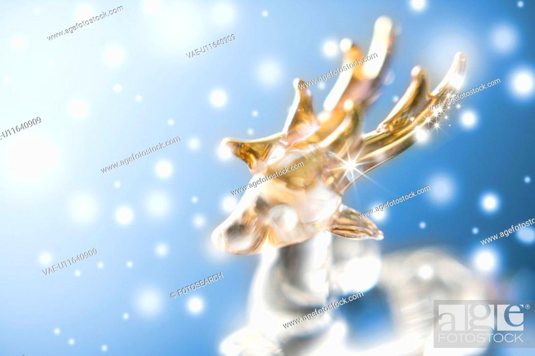 Stock Photo: Reindeer Ornament.