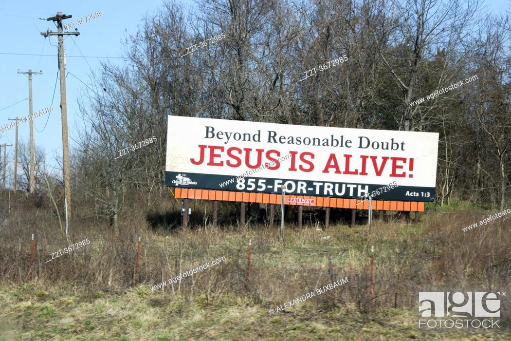 Photo de stock: Along Interstate 40, Missouri.