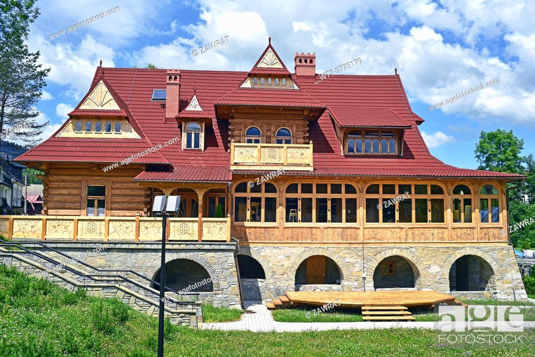 Stock Photo: Villa Red Manor.
