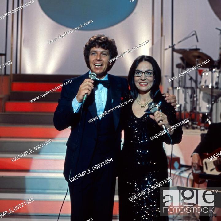 Photo de stock: Hätten Sie heut Zeit für mich, Unterhaltungsshow mit Michael Schanze und Gaststar.