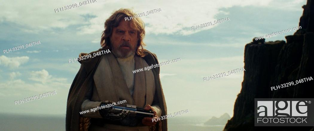 "Stock Photo: """"""Star Wars: The Last Jedi"""" (2017) Luke Skywalker (Mark Hamill) Lucasfilm Ltd."