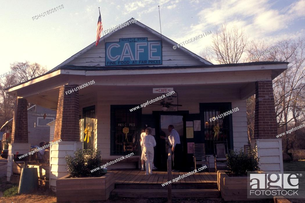 Juliette, GA, Georgia, Whistle Stop CafT (in the movie Fried