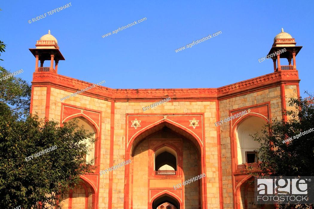 Stock Photo: Humayun's Tomb.