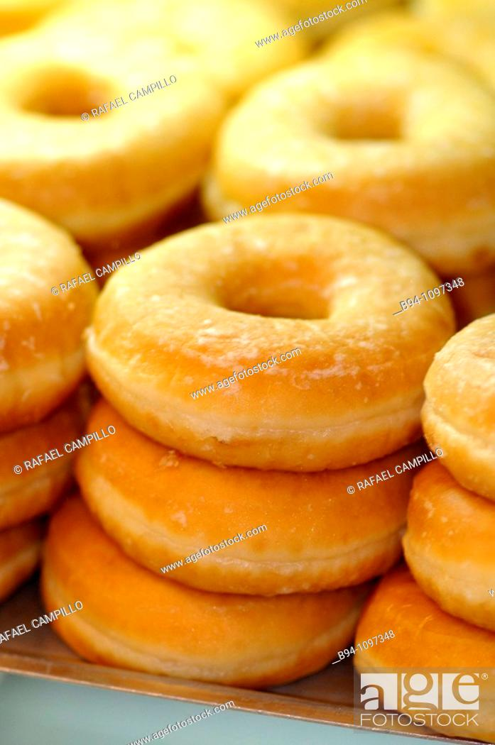 Stock Photo: Donuts.