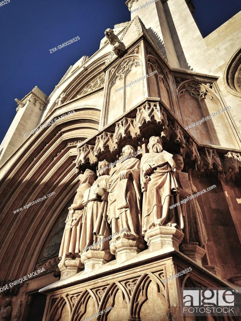 Stock Photo: Tarragona Cathedral, Catalonia, Spain, Europe.