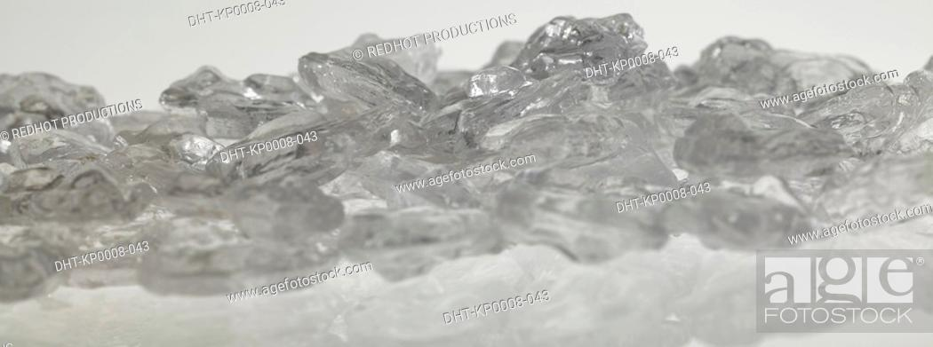 Stock Photo: Ice Cubes.