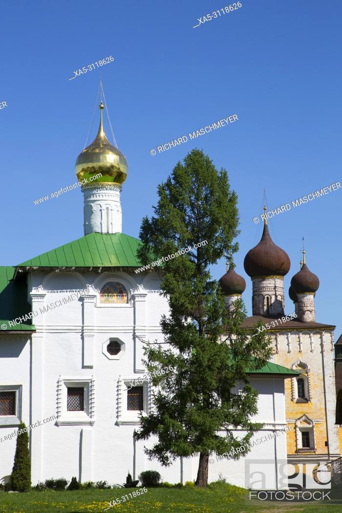 Imagen: Church of the Annunciation, Boris and Gleb Monastery, Borisoglebsky, Golden Ring, Yaroslavl Oblast, Russia.