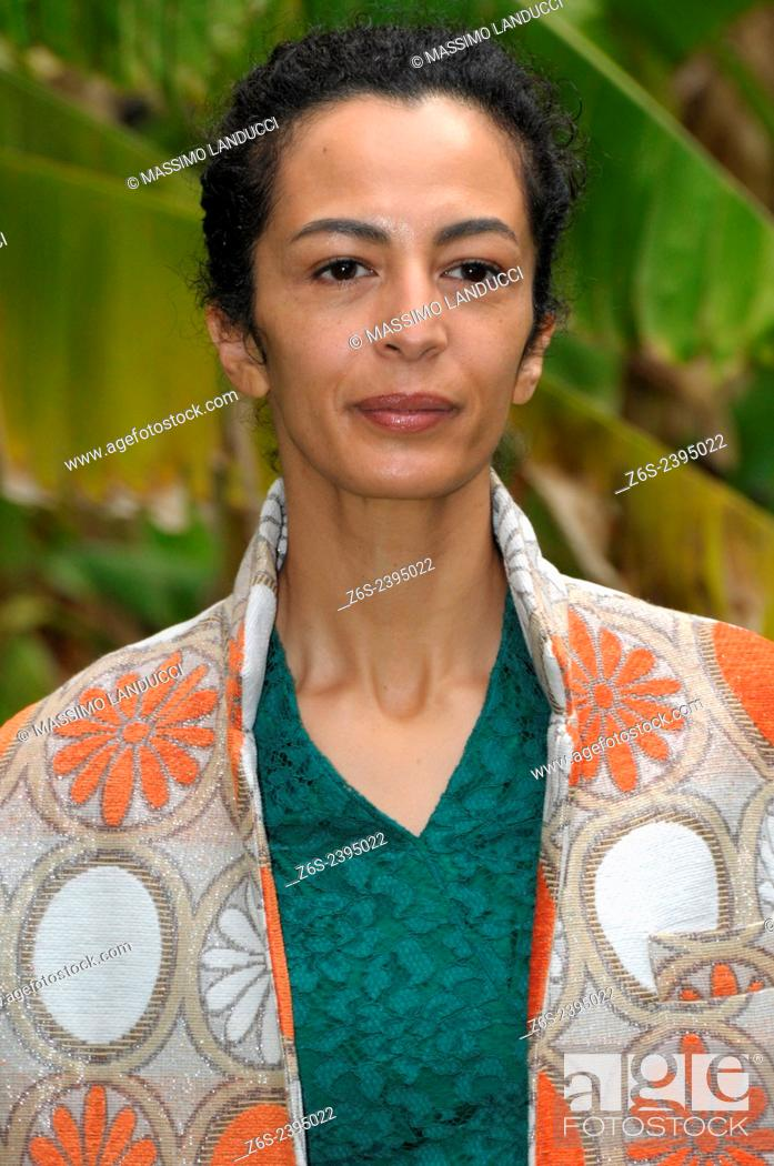 Imagen: Nadia Kibout; Kibout; actress; celebrities; 2015;rome; italy;event; photocall; una casa nel cuore.