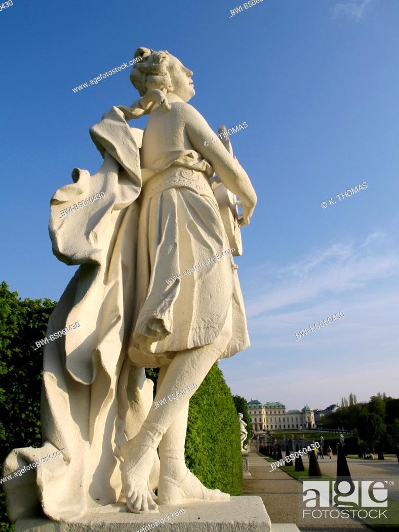 Stock Photo: Vienna, Belvedere castle, Austria, Vienna, 3. district, Vienna - Belvedere.