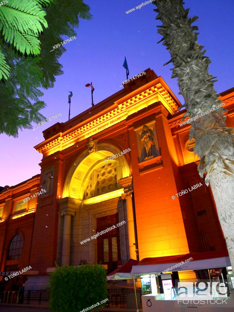 Stock Photo: Egyptian Museum, Cairo, Egypt.