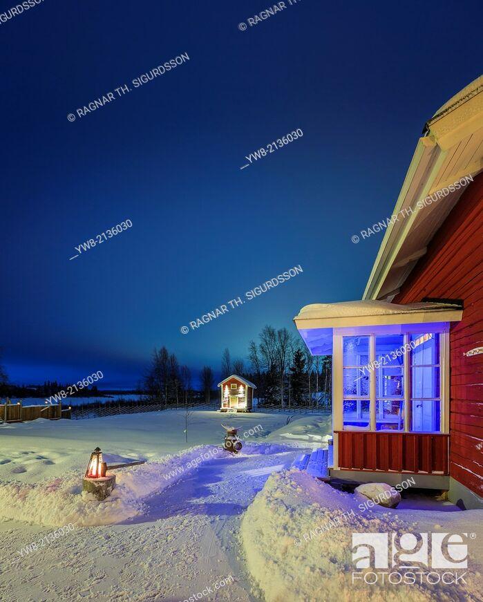 Imagen: Wardshuset Guest House, Kangos, Lapland, Sweden.