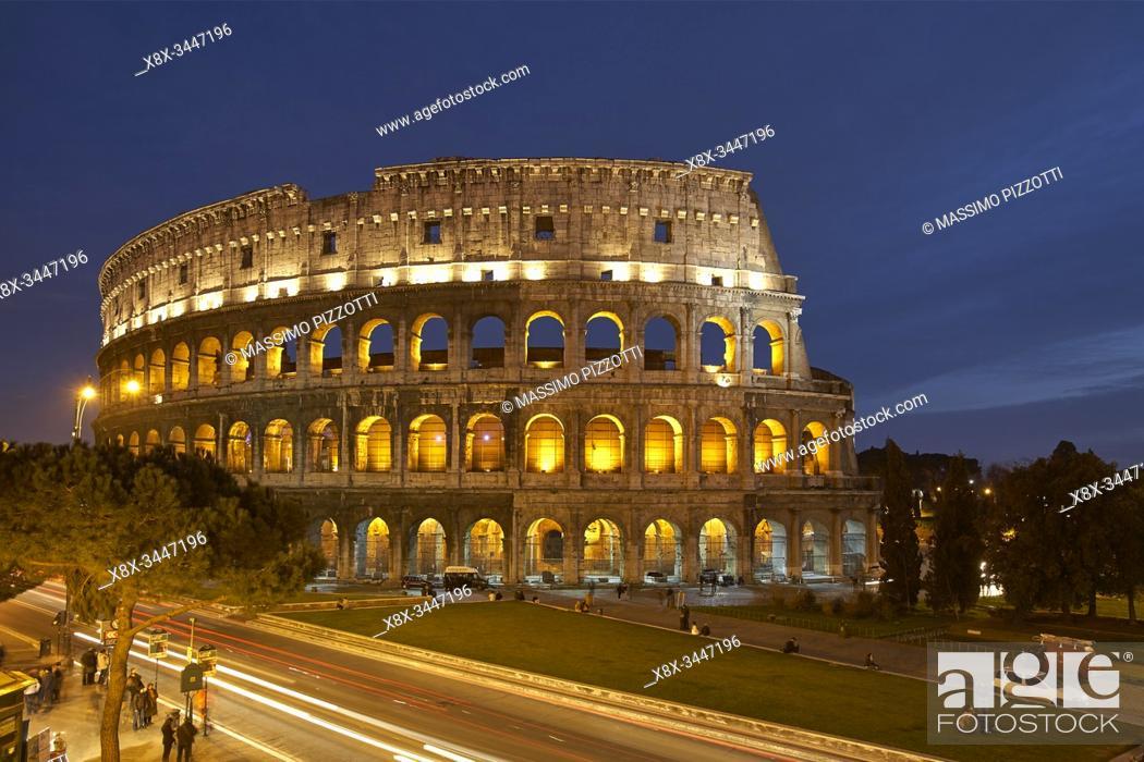 Stock Photo: Colosseum, Rome, Italy.