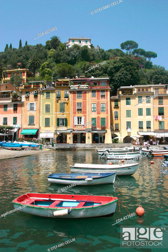 Stock Photo: Portofino. Liguria, Italy.
