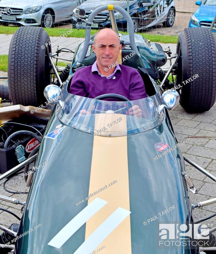Paul Hollywood visits Mercedes Benz World, Brooklands to support the