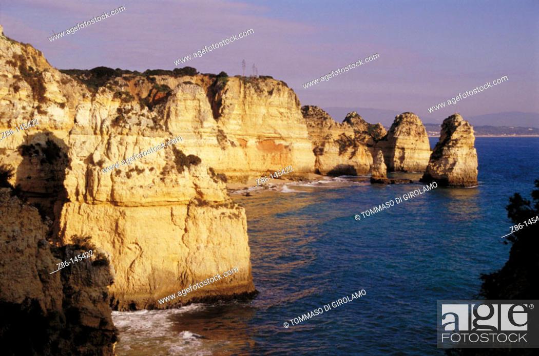 Stock Photo: Lagos. Algarve. Portugal.