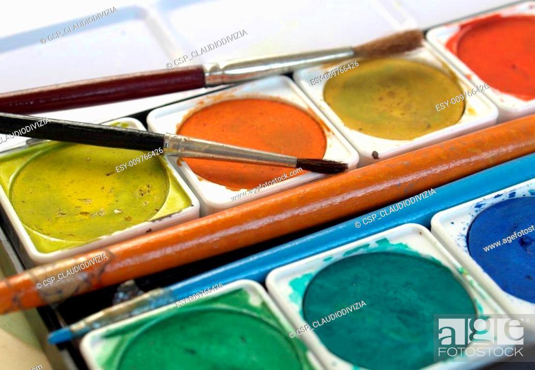 Imagen: Painting tools.