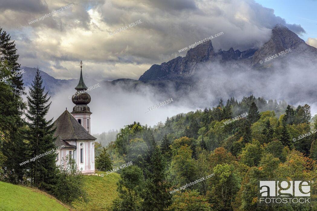 Imagen: Maria Gern, Berchtesgaden, Bavaria, Germany, Europe.