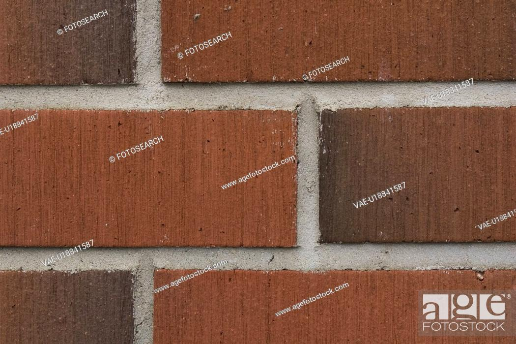 Stock Photo: Brick, Close-Up, Cement, Brickwork, Arrangement.