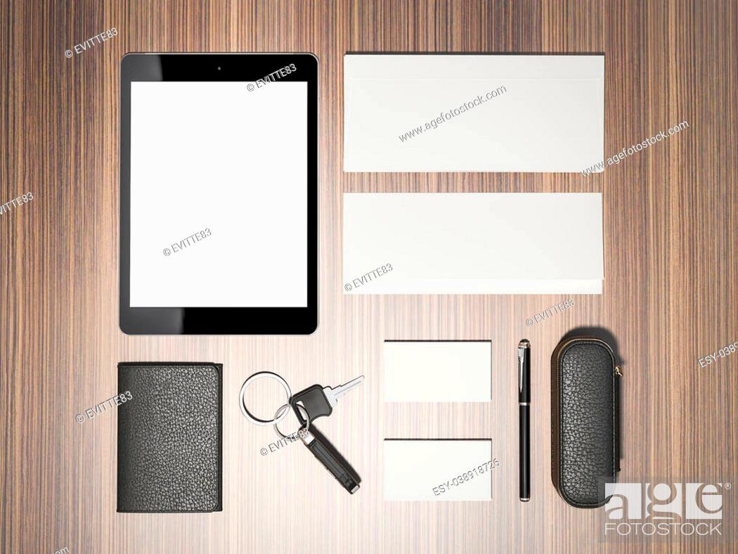 Stock Photo: Template business for branding. High resolution.
