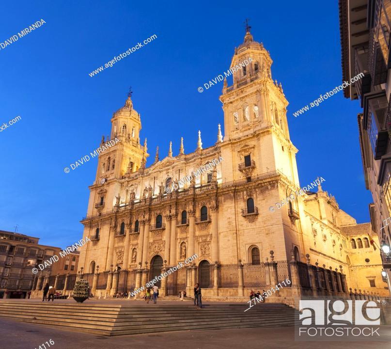 Imagen: Catedral de la Asunción de la Virgen. City of Jaen. Andalusia. Spain.