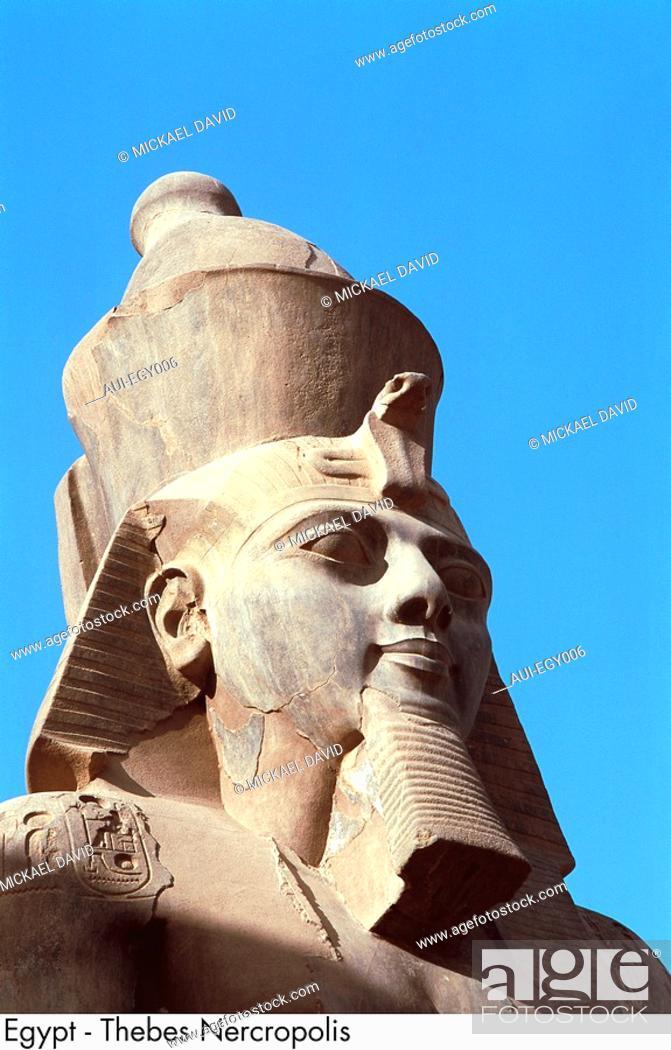 Stock Photo: Egypt - Thebes Nercropolis.