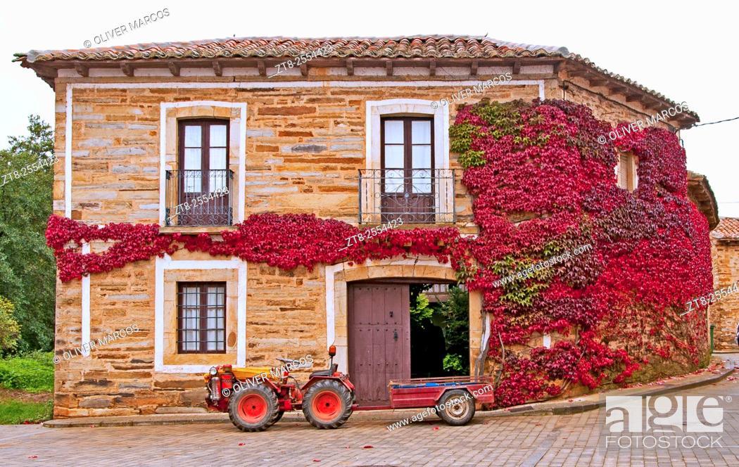 Imagen: Castrillo de la Valduerna, Leon province, Spain.