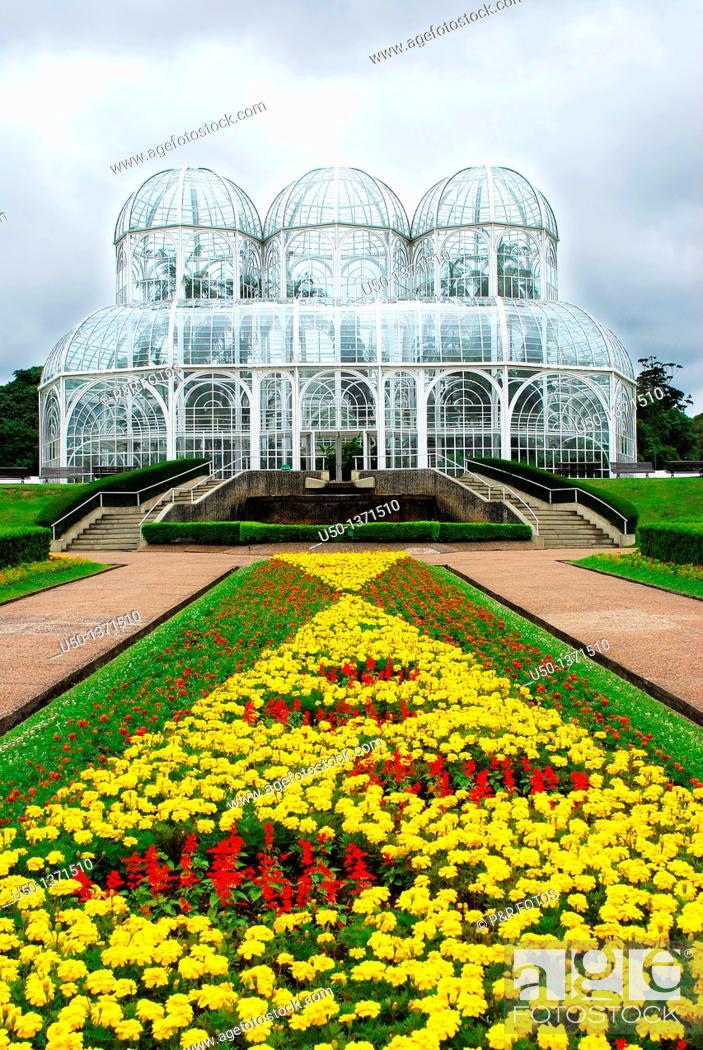 Stock Photo: Jardim Botânico, Curitiba, Paraná, Brazil, 2009.
