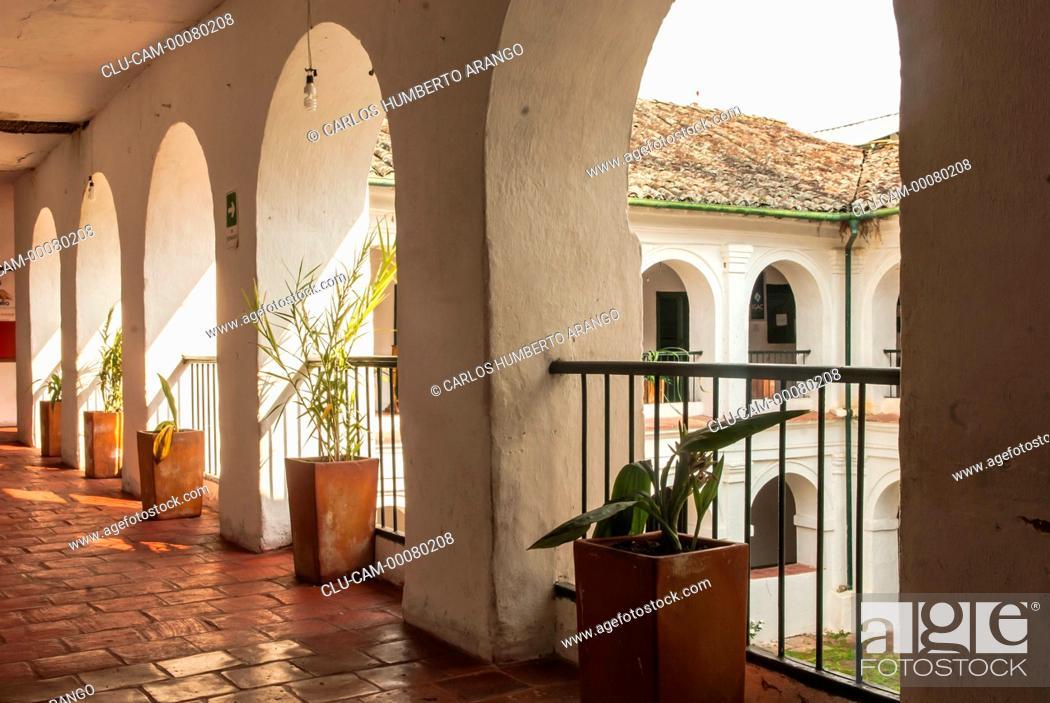 Stock Photo: Convento de la Soledad, Villa de Guaduas, Cundinamarca, Colombia.