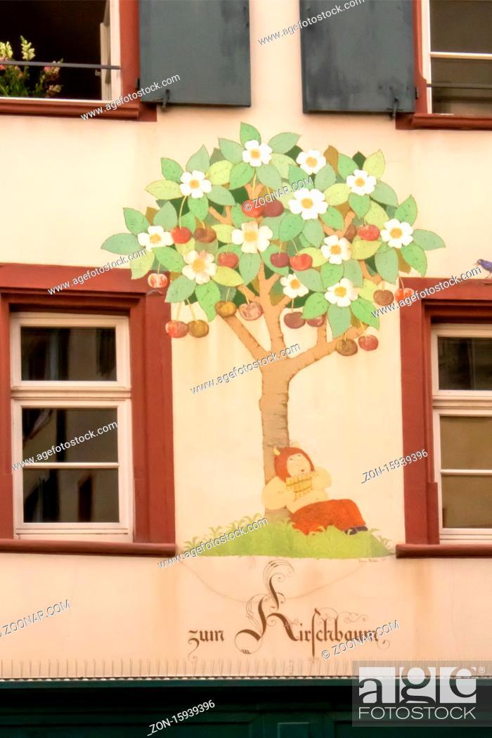 Stock Photo: zum Kirschbaum Basel.