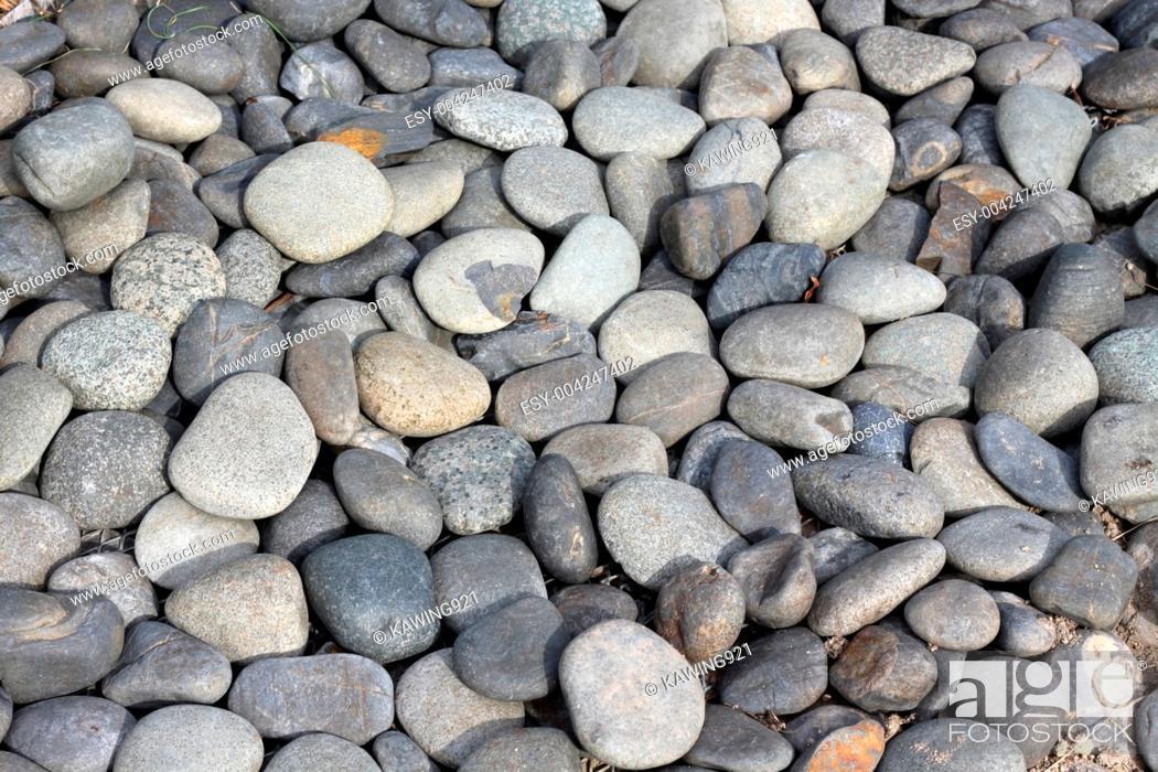 Imagen: Pebbles stone background.