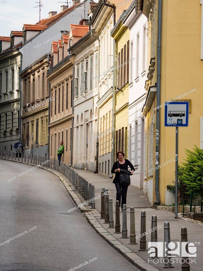 Stock Photo: Zagreb Coatia Scene.