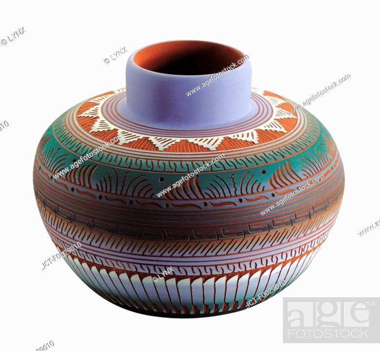 Stock Photo: World symbols: Pot South America.